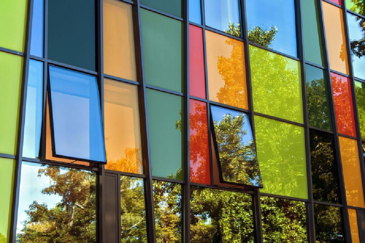 Coloured Aluminium Windows Devon